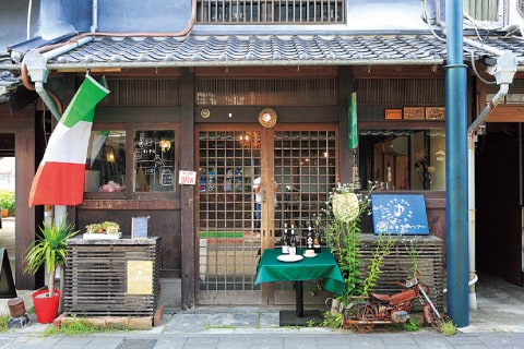 """Cafe which can relax slowly. On a la carte menu of dinner as for pizza or the Spain-producing ham. /period-limited exquisite pasta! As for the """"peperoncino of soy sauce with ricemalt"""" 950 yen salad set including drink."""