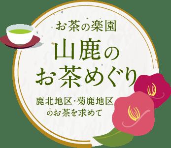 Visiting tea of paradise Yamaga of tea